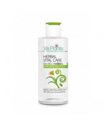 VIS PLANTIS - Płyn micelarny 3 w 1 z sokiem z aloesu i pantenolem 150 ml