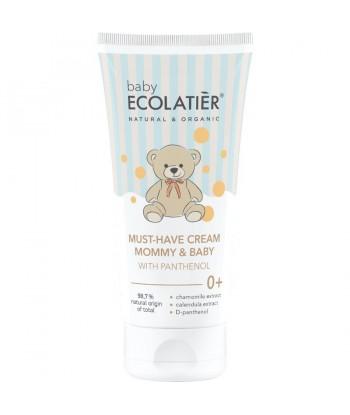 BABY Krem z D-pantenolem Mommy & Baby 0+, 100 ml ECOLATIER