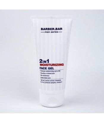 Barber.Bar Nawilżający Żel do twarzy po goleniu, 2w1, 100 ml