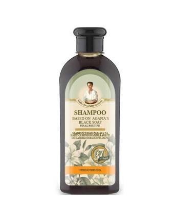 Wzmacniający szampon do włosów na bazie czarnego mydła Agafii, 350ml