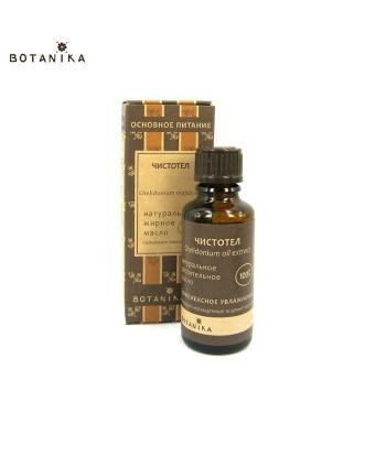 Naturalny 100% Olejek z glistnika jaskółcze ziele, 50ml - BOTANIKA