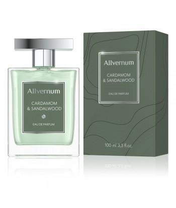 Woda perfumowana męska, cardamom & sandalwood, 100ml Allvernum