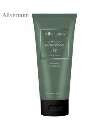 Perfumowany żel pod prysznic, cardamom & sandalwood, 200ml Allvernum