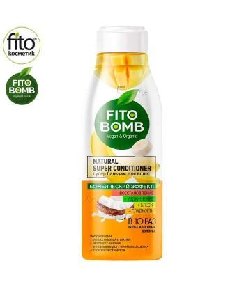 FITO BOMB Balsam do włosów, regeneracja Kokos & Mango, 250 ml - Fitokosmetik