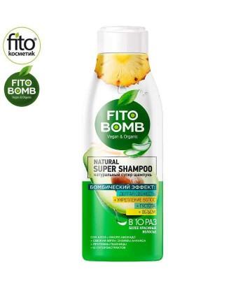 FITO BOMB Szampon do włosów wzmacniający, Aloes & Avocado, 250ml - Fitokosmetik