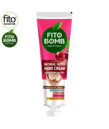 FITO BOMB Super Regenerujący krem Do Rąk + Zmiękczający + Młodość + Pielęgnacja Skórek, 24ml - Fitokosmetik