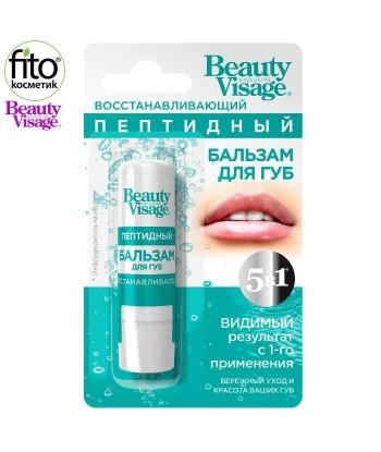 Peptydowy Rewitalizujący balsam do ust Beauty Visage, 3,6g - Fitokosmetik