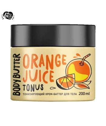 Tonizujące masło do ciała Sok Pomarańczowy, 200 ml MONOLOVE bio