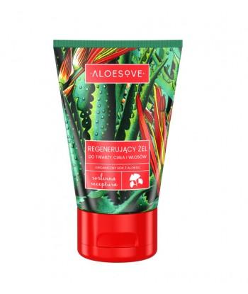 ALOESOVE Regenerujący żel do twarzy, ciała i włosów (100 ml) - SYLVECO