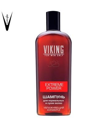 """Viking Szampon do włosów normalnych i suchych, nawilżający """"Extreme Power"""", 300 ml"""