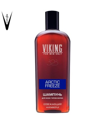 """Viking Szampoon do wszystkich typów włosów, odświeżający """"Arctic Freeze"""", 300 ml"""