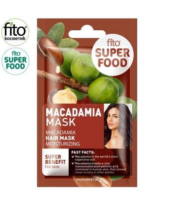 FITO SUPERFOOD maska do włosów, nawilżająca, Macadamia, 20 ml