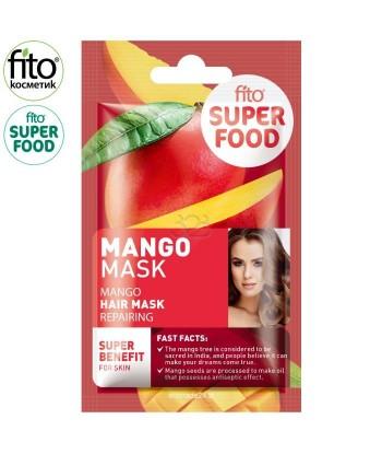 FITO SUPERFOOD maska do włosów, regenerująca, Mango,20 ml