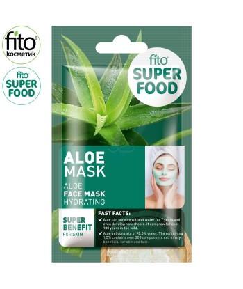 FITO SUPERFOOD Nawilżająca maseczka do twarzy z aloesem ,10 ml
