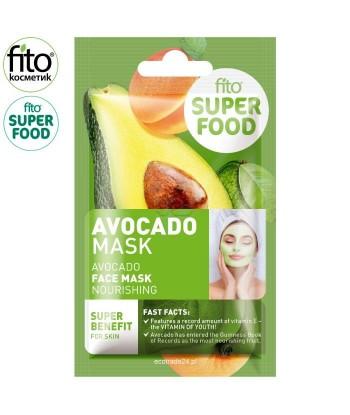 FITO SUPERFOOD Odżywcza maska do twarzy, Awokado, 10 ml