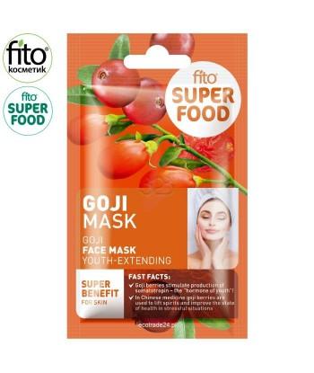 FITO SUPERFOOD Odmładzająca maska do twarzy, Goji, 10 ml