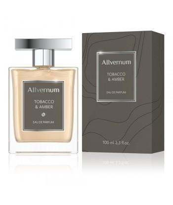 Woda perfumowana męska, tobacco & amber, 100ml Allvernum